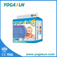 Popular sale baby diapers in Indonesia made by advanced baby diaper machine