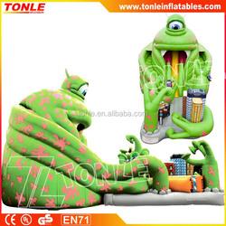 Giant Cyclopia Monster Inflatable slide