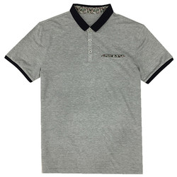korea design polo t shirt for men pocket decoration mercerized cotton t-shirt