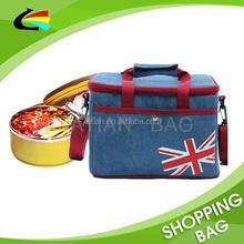 Custom European 600D Oxford Keep Fresh Picnic Cooler Bag
