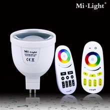 Smart bulb 4W AC86 265V dimmable RGBW wifi light bulb adapter