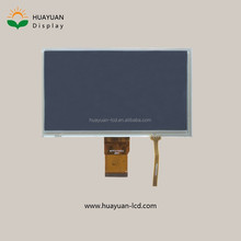 7 inch tft lcd panel display 800x480 LVDS with resistive touch panel