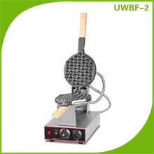 Rotary Hong Kong Waffle Maker, Waffle Maker Machine, Stainless Steel Egg Waffle Maker UWBF-2