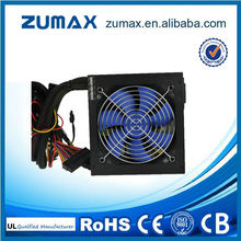 ZUMAX ATX EUF400 Active PFC 400W pc power supply 20 + 4Pin Interface Type