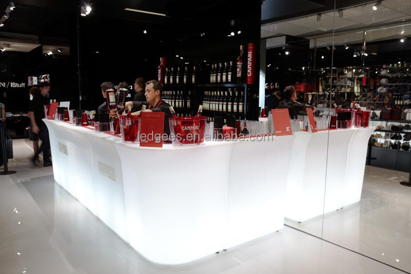 Coolqing luminosa levou m veis clube noturno moderno - Mostradores de bar ...