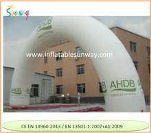 Huge inflatable archway / inflatable start finish arch / Christmas arch for event