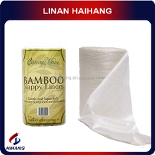 China manufacturer high quality roll packing disposable bamboo nappy liner