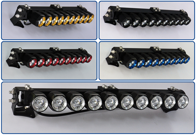 Ripdark led light bar work lights flood spot combo beam waterproof led light barg aloadofball Choice Image