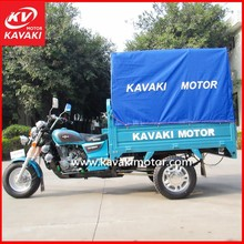 Guangzhou 150cc 3 Wheel Cargo Motorcycle With Closed Cabin Passenger Tricycle For Sale