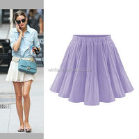 Cheap new arrival top level girls in short skirts no top