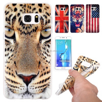 Tiger England American flag cell phone case back cover for samsung galaxy s6 edge plus