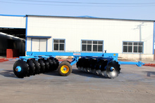 drag type disc harrow