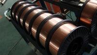 0.8 mm Diametro de plomo soldadura de alambre de soldadura er70s-6 de Rosin Core rollo