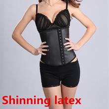 5 A grade natural latex colombian waist cincher trainer corset as seen on TV
