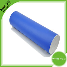 Air Bubbles Free Matte Blue Vinyl, Car Wrap Sticker, Hight Quality Matte Vinyl