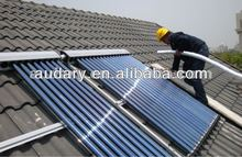 Split solar water heater for EU