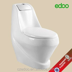 Attractive Modern Washdown One Piece Toilet With S-trap &P-trap Superior Ceramic For Housing