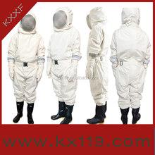 2014 novo produto branco profissional apicultura venda quente vestuário de protecção