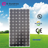 Home use mono sunel solar panel 190w