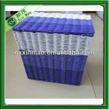 wholesale cheap colored plastic laundry baskets with handles