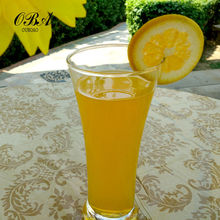 wholesale clear fruit juice drinking glass cup/ high quality drinking glassware,juice glass cups