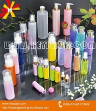Beautiful various plastic PET cosmetic packaging bottles