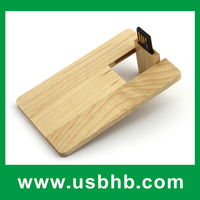 Good price wood business card bulk 1gb usb flash drives