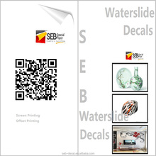 175GSM Manufacturer coated water slip decal transfer paper for interior decoration