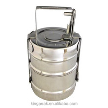 2015 Best selling high quality Stainless Steel Tiffin 2 Section/ Stainless steel Food carrier /Stainless Steel Lunch Box
