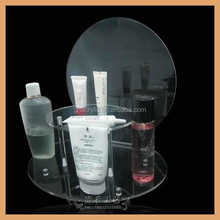 X18, Fashionable style high transparency acrylic cosmetic product display booth