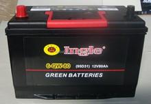 Car Maintenance Free battery 95D31R/L(12V80AH)