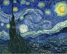 printed Masters Starry Night Vincent Van Gogh prints reputation oil painting on canvas