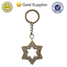 professional custom keychain manufacturer /star shape key chain