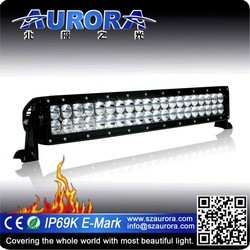 Factory price 20'' AURORA double row off-road military standard led light bar