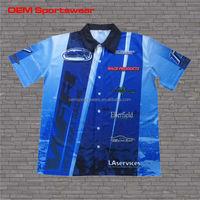 Plus size clothing custom motorcycle race shirts
