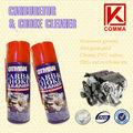 450ml spray limpiador de carburador, limpiador del estrangulador, fuerte capacidad de limpieza limpiador de carburador