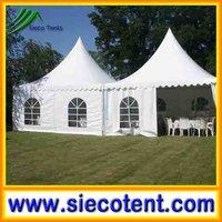 Factory Direct Aluminum Alloy Pole PVC Dome Tent