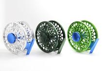 2015 New closed frame Fly Reel/Type II anodized/Large Arbor design