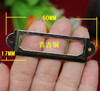 30Pcs Antique Iron Label Frame Card Holder drawer box case cabinet cupboard carpenter repair decoration Size small 60*17mm