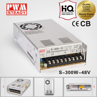 ac-dc Switch Power Supply CE approved SMPS DC Output 48v 300w led power supply