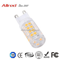 New design high CRI SMD2835 led g9 bulb replacement 40w halogen