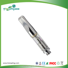 metal mouthpiece and glass tank atomizers for thick oil