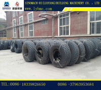 SINOMACH/YTO construction machine single drum vibration road roller tire