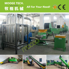 MT-500E Plastic Bottle Crushing Recycling of PET Washing Plant