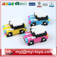 Meiyijia Direct selling 10mm perler beads hama beads for kids B1