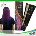 China fábrica cor do cabelo semi permanente dye cabelo mais de 15 shades com GMPC & ISO