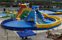 Giant inflatable water slide for adult and kids
