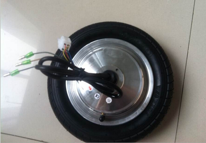 10 inch single side BLDC wheel hub motor