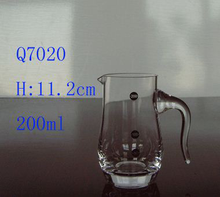 HOT SALE Newest Fashion! Top Quality art glass wine decanter from manufacturer