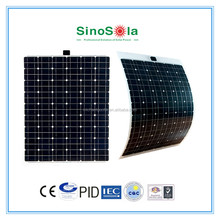 solar panel flat/flexible/portable design for tent and camping use